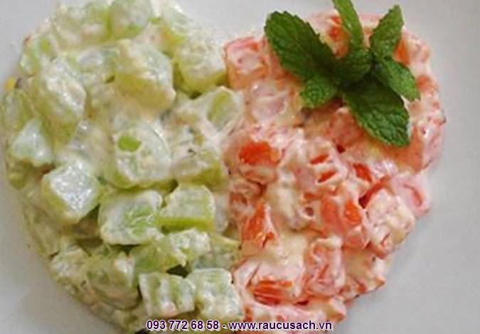 Raucusach.vn địa chỉ cung cấp rau tươi hảo hạng để thực hiện các món salad trộn tuyệt vời