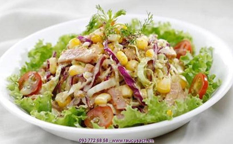 Salad trộn có cách làm rất đơn giản